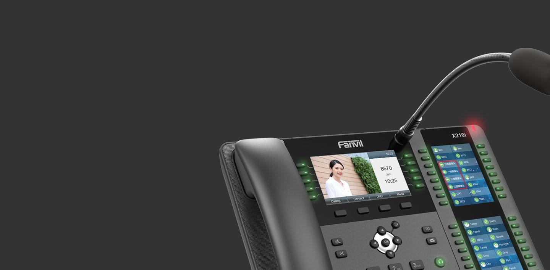 Fanvil X210i hỗ trợ chức năng giám sát