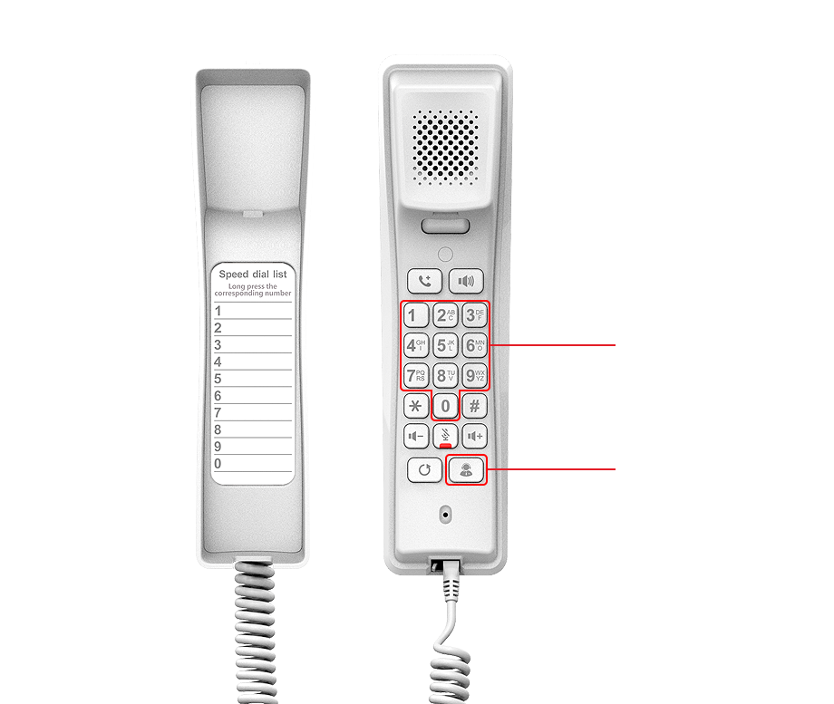 Điện thoại IP cho phòng tắm