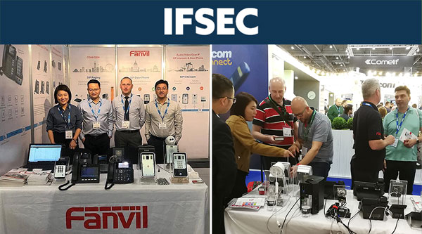 Fanvil Expands New Frontier to Security Range in IFSEC International 2018
