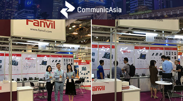 Fanvil to showcase Full Line products in Communic Asia 2018
